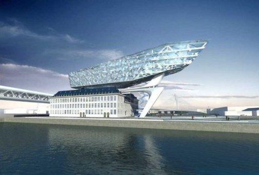 """Zaha Hadid, """"Sede administrativa para el puerto de Antwerp"""""""