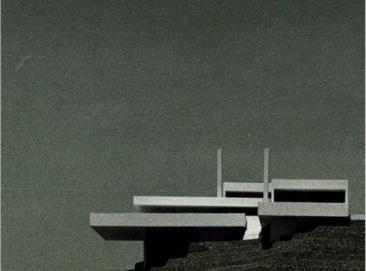 Proyecto. La manzanilla, maqueta. 1979