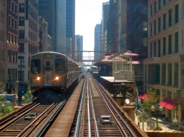 Metro de Chicago. Imagen de wikipedia.com