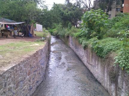 Circuito Loma Norte y arroyo el Rosario Vista hacia el Sur