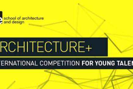 Concurso para jóvenes arquitectos: IE ARCHITECTURE+PRIZE