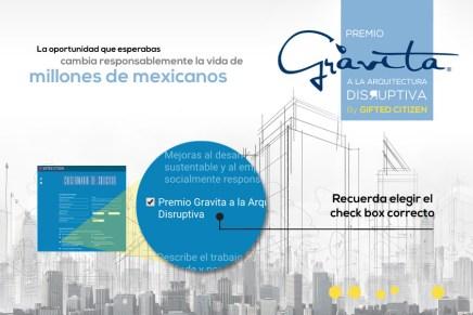 Concurso: Premio Grávita a la Arquitectura Disruptiva by GiftedCitizen
